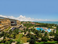 Panorama of the Wan Jia Hotel Resort Sanya 5* (Hainan, China)