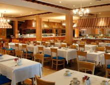 Restaurant in the Sentido Cypria Bay by Leonardo Hotels 4* (Paphos, Cyprus)