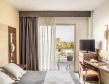 Premium Room in Aqua Hotel Aquamarina & Spa 4* in Santa Susanna, Costa del Maresme, Spain