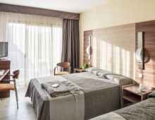 Standard Room in Aqua Hotel Aquamarina & Spa 4* in Santa Susanna, Costa del Maresme, Spain