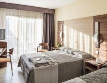 Standard Room in Aqua Hotel Aquamarina & Spa 4* in Santa Susanna, Costa del Maresme, Spain