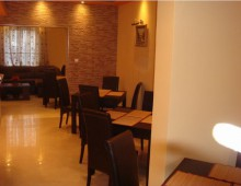 Restaurant in the hotel Apartments Azzuro 4* (Budva, Montenegro)