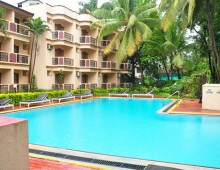 Abalone Resort 2* (Baga Beach, Arpora, North Goa, Goa, India)