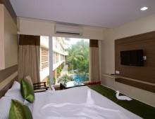 Turtle Beach Resort 4* (Morjim Beach, North Goa, Goa, India)