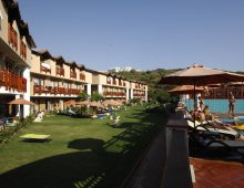 Building of the hotel Limoncello Konakli Beach 5* (Alanya, Turkey)