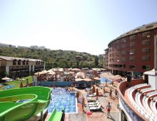 Panorama of the hotel Limoncello Konakli Beach 5* (Alanya, Turkey)