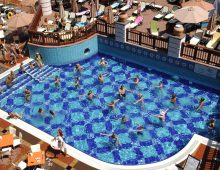 Pool of the hotel Limoncello Konakli Beach 5* (Alanya, Turkey)