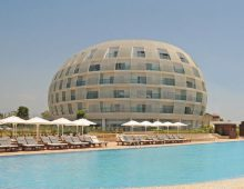 Building of Gold Island Hotel 5* (Alanya, Turkey)