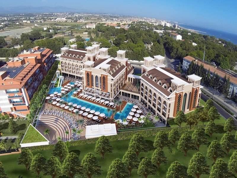 Diamond Elite Hotel Side Turkey
