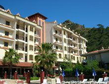 Building of the hotel Grand Panorama Family Suites 4* (Marmaris, Turkey)