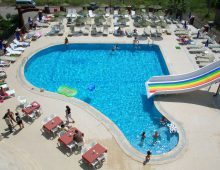 Pool in the hotel Grand Panorama Family Suites 4* (Marmaris, Turkey)