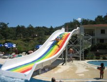 Water slide in the hotel Grand Panorama Family Suites 4* (Marmaris, Turkey)