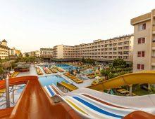 Panorama of the hotel Xeno Eftalia Resort 4* (Konakli, Alanya, Turkey)