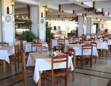 Restaurant in the hotel TUI Day & Night Connected Club Hydros HV1 5* (Kemer, Turkey)