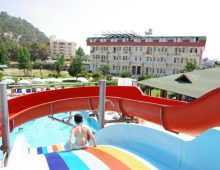 Water slides in Anita Club Fontana Life Hotel 4* (Kemer, Turkey)