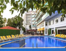 Pool in Sunbay Park Hotel 4* (Marmaris, Turkey)