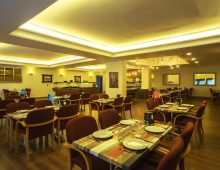 Restaurant in Sunbay Park Hotel 4* (Marmaris, Turkey)