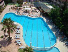 Pool in Side Yesiloz Hotel 4* (Side, Turkey)