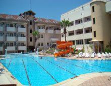 Water slide in Side Yesiloz Hotel 4* (Side, Turkey)