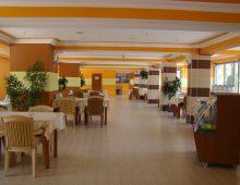 Restraurant of Side Yesiloz Hotel 4* (Side, Turkey)