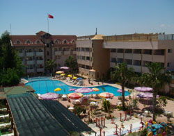 Panorama of Side Yesiloz Hotel 4* (Side, Turkey)