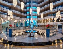 Lobby of hotel Alan Xafira Deluxe Resort Spa 5* (Alanya, Turkey)