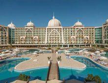 Building of hotel Alan Xafira Deluxe Resort Spa 5* (Alanya, Turkey)