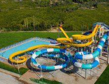 Water slides in hotel Alan Xafira Deluxe Resort Spa 5* (Alanya, Turkey)