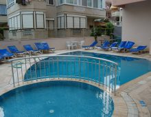 Pool in hotel Blue Dream 3* (Alanya, Turkey)