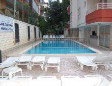 Pool in hotel Blue Dream 3* (Alanya, Turkey)