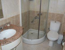 Bathroom in the room of hotel Blue Dream 3* (Alanya, Turkey)