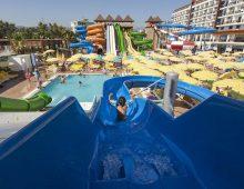 Aquapark in hotel Eftalia Splash Resort 5* (Alanya, Turkey)