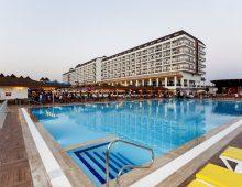 Building of hotel Eftalia Splash Resort 5* (Alanya, Turkey)