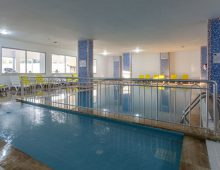 Indoor pool in hotel Eftalia Splash Resort 5* (Alanya, Turkey)