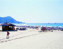 Beach of Hedef Kleopatra Golden Sun 3* (Alanya, Turkey)