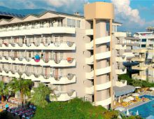 Building of Hedef Kleopatra Golden Sun 3* (Alanya, Turkey)