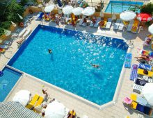 Pool in Hedef Kleopatra Golden Sun 3* (Alanya, Turkey)