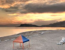 Beach of hotel Labranda Alantur 5* (Alanya, Turkey)