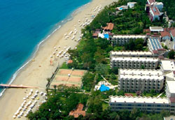 Panorama of hotel Labranda Alantur 5* (Alanya, Turkey)