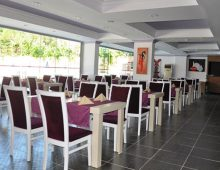Restaurant of Palmiye Garden Hotel 3* (Side, Turkey)