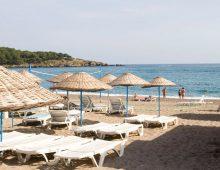 Beach of Mysea Hotels Alara 4* (Alanya, Turkey)
