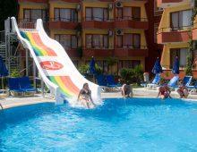 Water slides in Mysea Hotels Alara 4* (Alanya, Turkey)