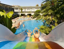 Water slides in Sun Club Hotel 4* - Side, Turkey
