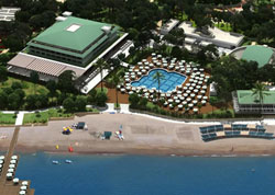 Panorama of hotel Nirvana Lagoon Villas Suites & Spa 5* (Kemer, Turkey)