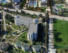 Panorama of hotel Karmir Resort & Spa 5* (Goynuk, Kemer, Turkey)