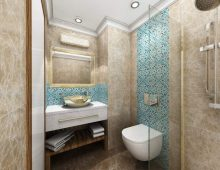 Bathroom in the room in hotel Karmir Resort & Spa 5* (Goynuk, Kemer, Turkey)