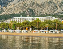 Beach of hotel Rixos Beldibi 5* (Kemer, Turkey)