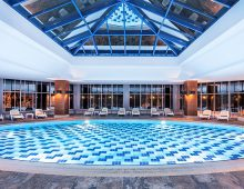 Indoor pool in hotel Rixos Beldibi 5* (Kemer, Turkey)