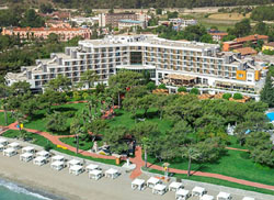 Panorama of hotel Rixos Beldibi 5* (Kemer, Turkey)