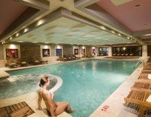 Indoor pool in the hotel Crystal De Luxe Resort & Spa 5* (Kemer, Turkey)